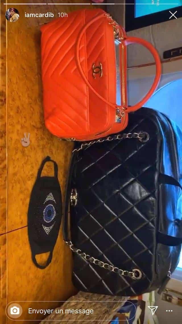 Cardi B dévoile ses sacs de luxe préférés !