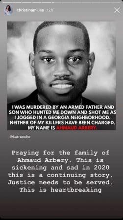 Christina Milian : le meurtre raciste d'Ahmaud Arbery lui brise le coeur !