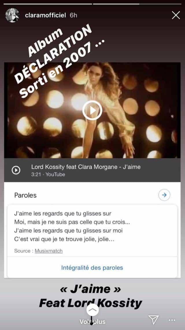 Clara Morgane nostalgique de son feat avec Lord Kossity !