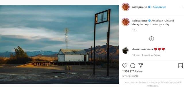 Cole Sprouse impressionne ses fans avec ses talents de photographe !