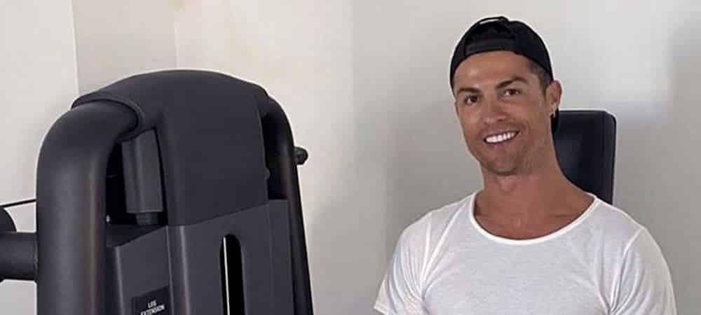 Cristiano Ronaldo ouvre un compte dédié à ses cours de fitness !