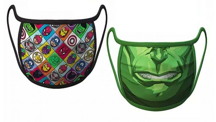 Disney va vendre des masques à l'effigie de Hulk ou encore Mickey !