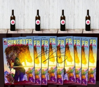 Dylan Sprouse présente sa BD Sun Eater à ses fans sur Instagram !