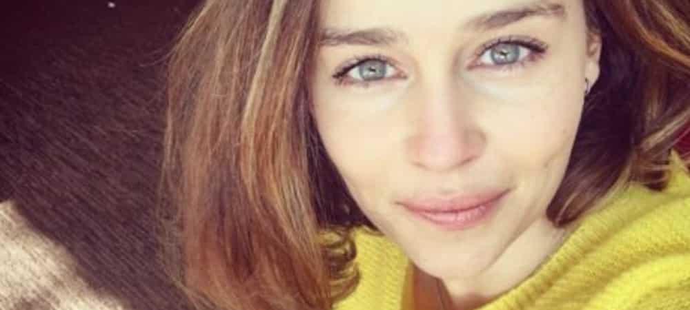 Emilia Clarke secrètement en couple pendant le confinement 1000