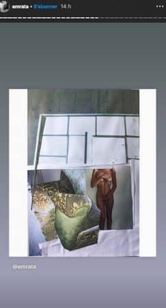 Emily Ratajkowski joue la carte de la provoc' et pose entièrement nue !