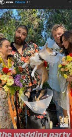 Emily Ratajkowski organise une cérémonie de mariage depuis chez elle