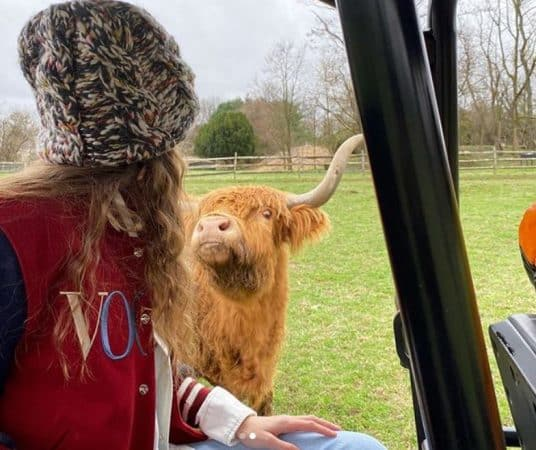 Gigi Hadid à la ferme