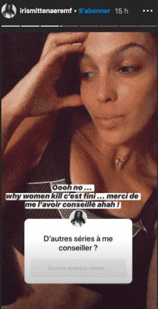 Iris Mittenaere est totalement accro à la série Why Women Kill 22052020-