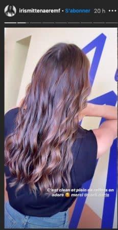 Iris Mittenaere: sa nouvelle couleur de cheveux fait l'unanimité !