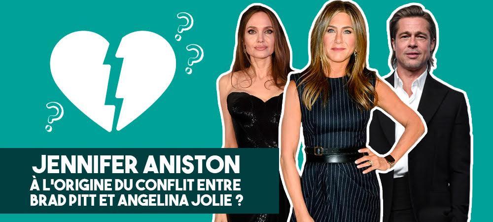 Jennifer Aniston au centre du conflit Brad Pitt et Angelina Jolie ?