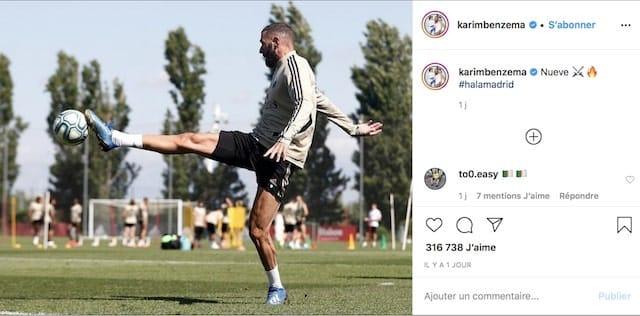 Karim Benzema (Real Madrid) a enfin repris l'entraînement !
