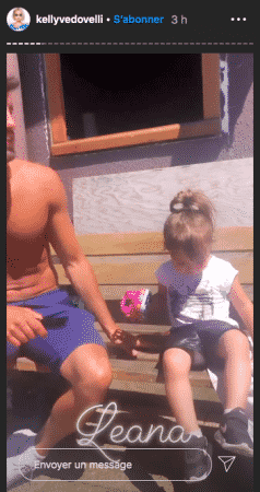 Kelly Vedovelli dévoile sa nièce Léana sur Instagram 31052020-