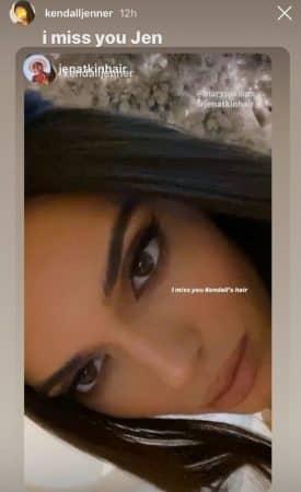 Kendall Jenner : sa coiffeuse lui manque beaucoup pendant le confinement !
