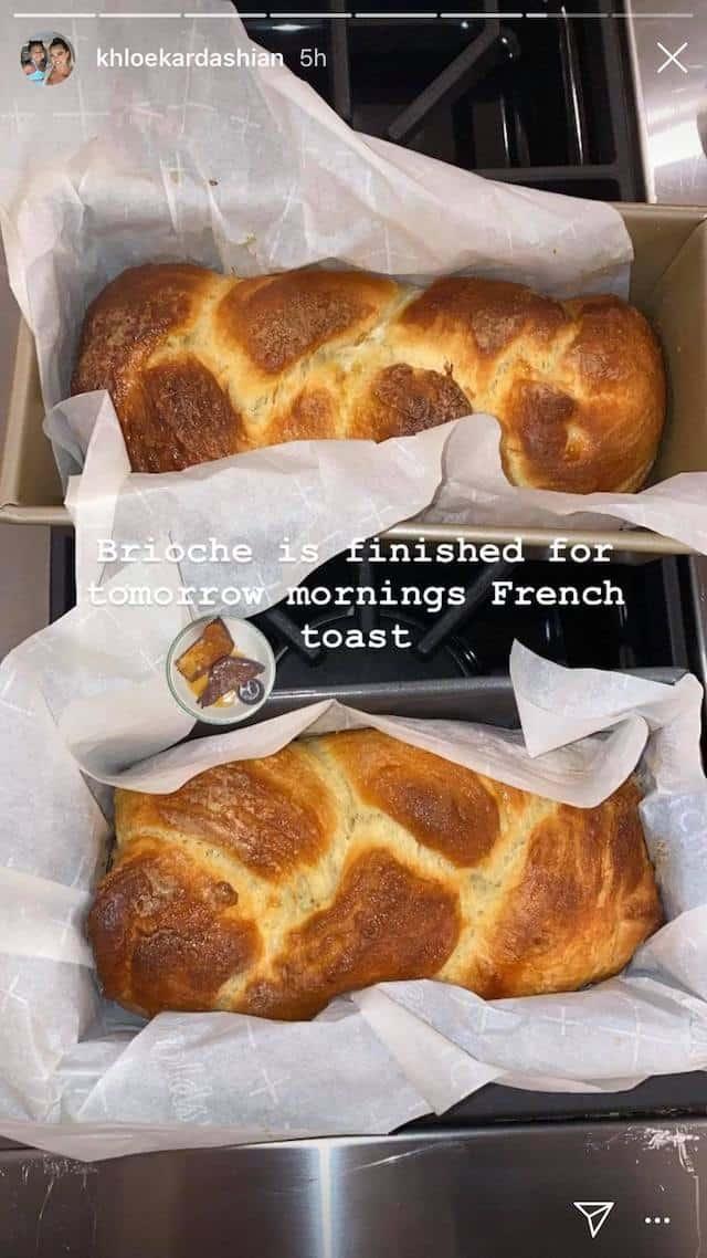 Khloé Kardashian se met à la pâtisserie !