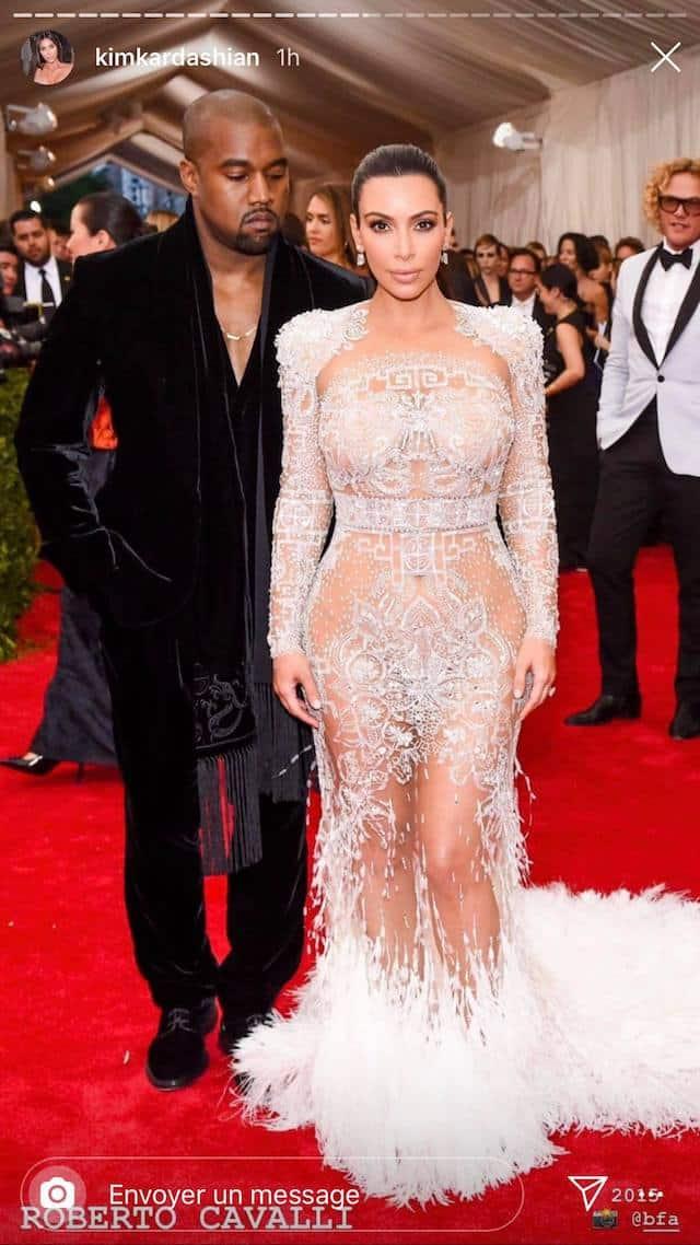 Kim Kardashian dévoile ses tenues les plus sexy du Met Gala