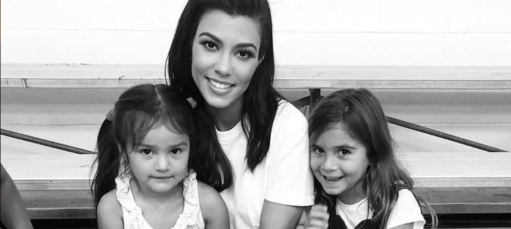 Kourtney Kardashian s'affiche avec tous ses enfants sur Instagram 1000