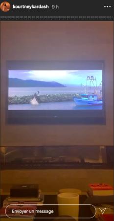 Kourtney Kardashian son moment nostalgie devant Sauvez Willy 14052020-