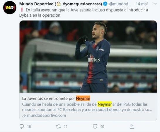 La Juventus Turin rêve d'associer Neymar et Cristiano Ronaldo !