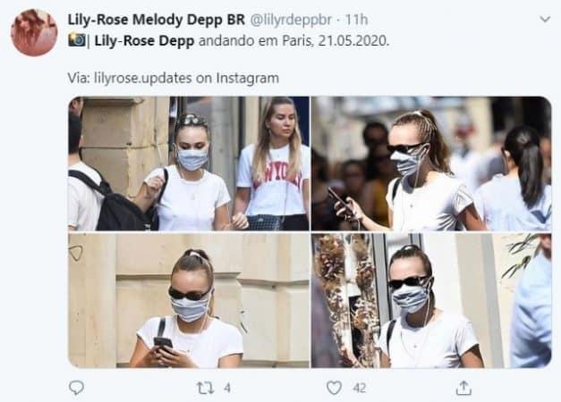 Lily-Rose Depp et Vanessa Paradis s'affichent masquées dans les rues de Paris !