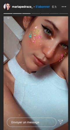 María Pedraza (Elite) sensuelle sur un nouveau selfie Instagram !