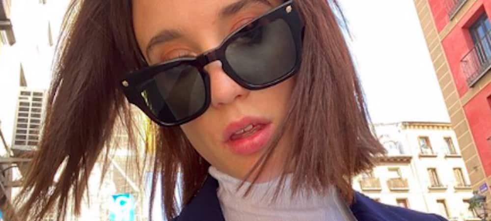 María Pedraza (Elite) toujours aussi souple malgré le confinement !