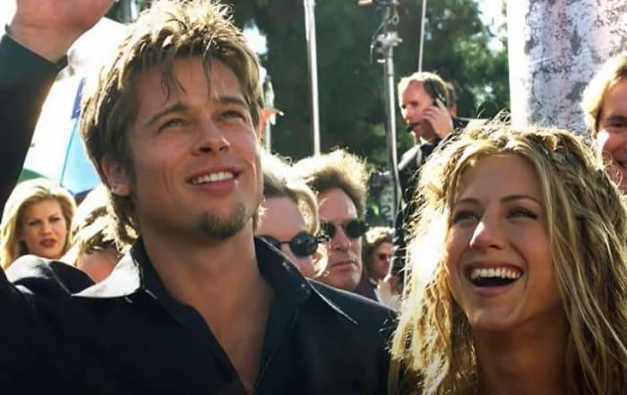 Jennifer Aniston et Brad Pitt se marient en 2000