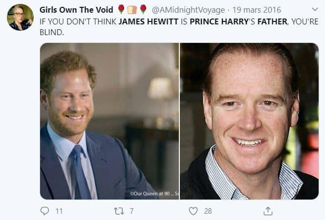 Meghan Markle: les fausses rumeurs sur l'identité du père de Harry !