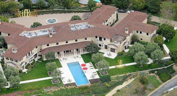 La villa où réside Meghan Markle