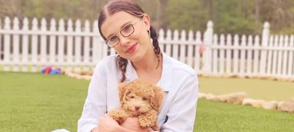 Millie Bobby Brown: regard de braise et veste en jean sur Instagram 1000