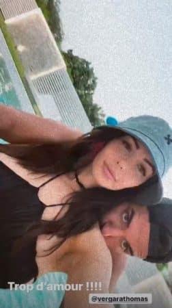 Nabilla passe une soirée romantique autour de la piscine avec Thomas !