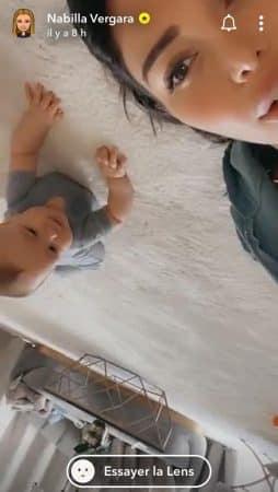 Nabilla: son fils Milann a saccagé toute la moquette !