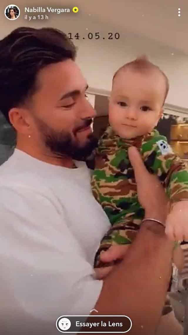 Nabilla: son fils Milann porte déjà une crête !