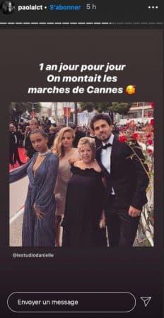 Paola Locatelli rêve de retourner au Festival de Cannes !