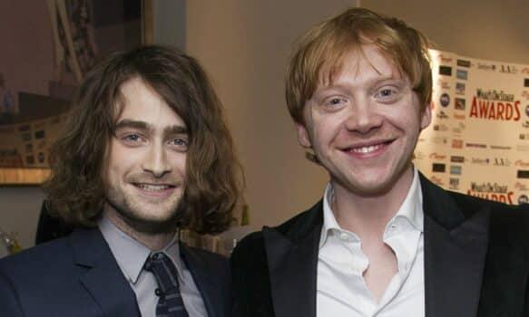 Rupert Grint papa, Daniel Radcliffe (Harry Potter) a une réaction étonnante !
