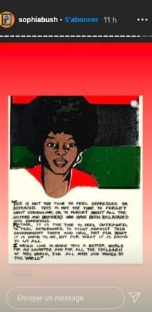 Sophia Bush se mobilise dans la lutte contre le racisme aux USA !