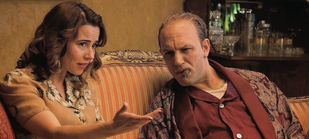 Tom Hardy- sa partenaire terrifiée de le gifler sur le tournage de Capone 1000