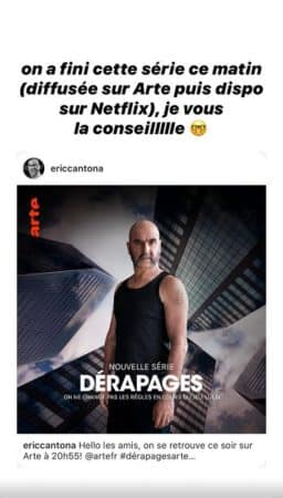 Agathe Auproux adore la série Dérapages avec Eric Cantona !