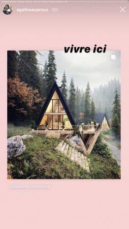 Agathe Auproux dévoile la maison de ses rêves sur Instagram 640