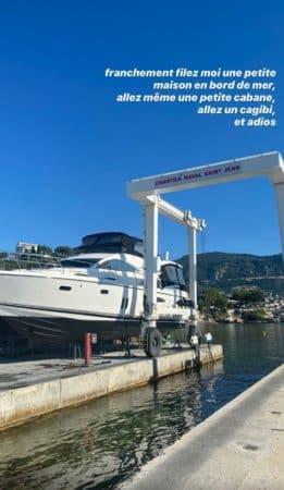 Agathe Auproux prête à tout quitter pour vivre au bord de la mer ?