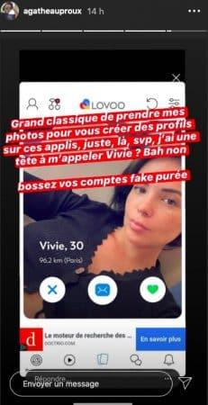 Agathe Auproux victime d'usurpation d'identité sur les réseaux sociaux !