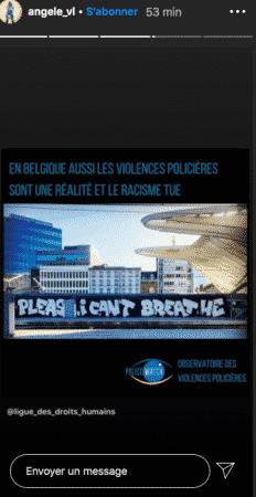 Angèle s'engage de plus en plus contre les violences policières !