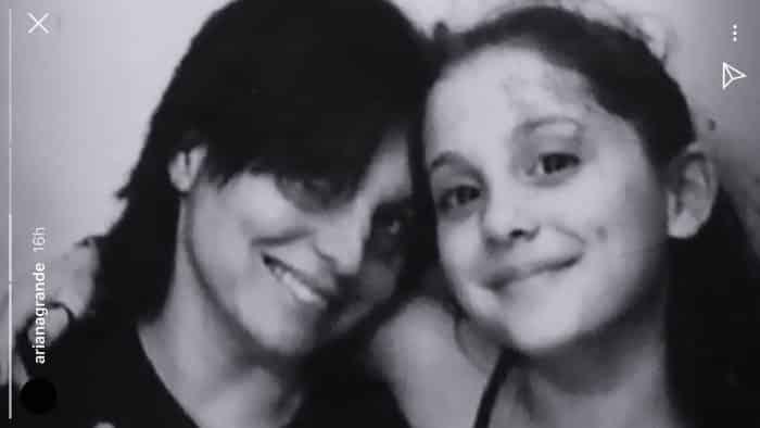 Ariana Grande dévoile une rare photo de son enfance sur Instagram !