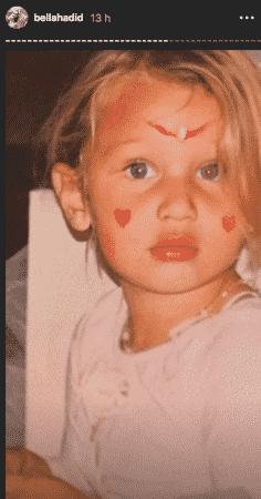 Bella Hadid dévoile des photos d'elle enfant et elle est adorable !