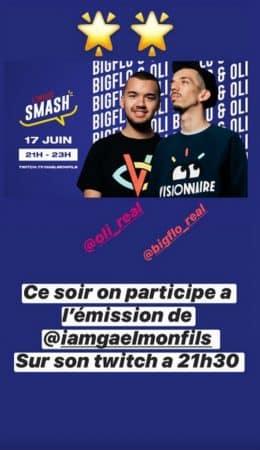 Bigflo & Oli participent à l'émission en direct de Gaël Monfils !