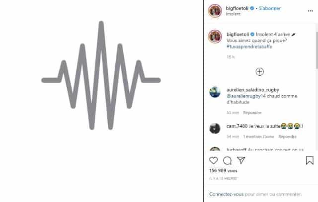 "Bigflo & Oli teasent leur freestyle ""Insolent 4"" sur Instagram !"
