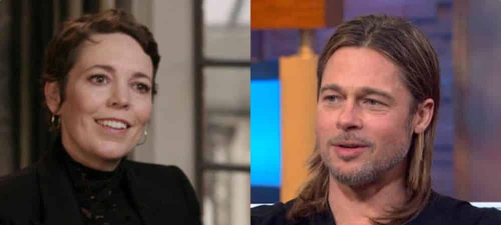 Brad Pitt: cette remarque qui a beaucoup fait rire Olivia Colman !