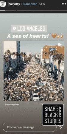 Laeticia Hallyday apporte son soutien aux Black Lives Matter sur Instagram !
