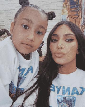 Kim Kardashian révèle d'adorables photos pour les 7 ans de North !
