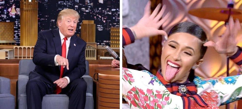 Cardi B profondément choquée par Donald Trump !