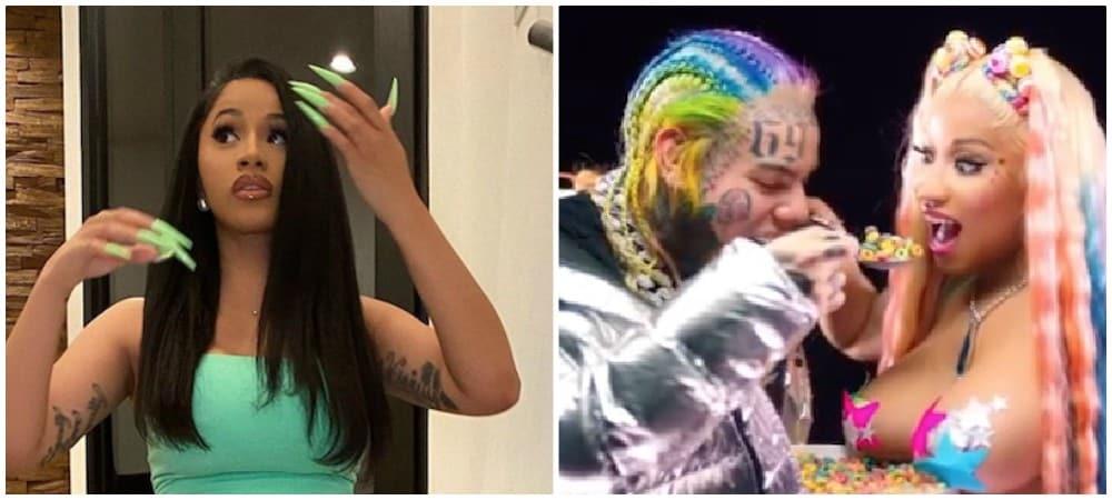Cardi B- ses fans boycottent le morceau Trollz de 6ix9ine et Nicki Minaj 1000